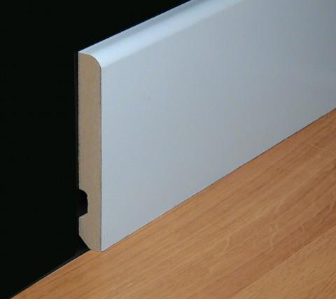 Rodapies laminados lacados y chapados product for Suelos laminados adhesivos